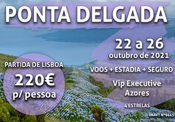 Temos uma escapadinha de 4 noites para os Açores por apenas 220€