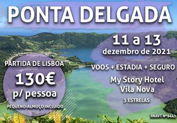 Pára tudo: esta escapadinha para os Açores só custa 130€ (com pequeno-almoço)