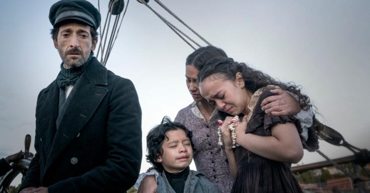 """Em """"Chapelwaite"""" Adrien Brody volta à HBO no registo habitual — de homem atormentado"""