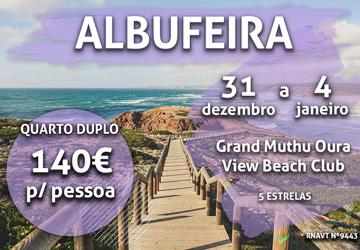 Não tem planos para a Passagem de Ano? Pode ir para o Algarve por 140€