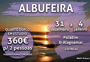Alerta, Passagem de Ano: esta estadia no Algarve só custa 360€ para duas pessoas