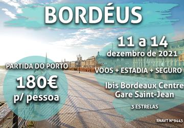 Fãs de vinhos: temos uma escapadinha de inverno para Bordéus só por 180€