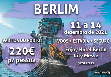 Esta escapadinha de inverno para Berlim só custa 220€ por pessoa (com voo e hotel)