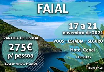 Última chamada: Lisboa-Faial por apenas 275€ (com voo e hotel incluídos)