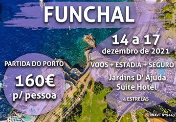Não perca esta escapadinha para a Madeira por 160€ (com pequeno-almoço)