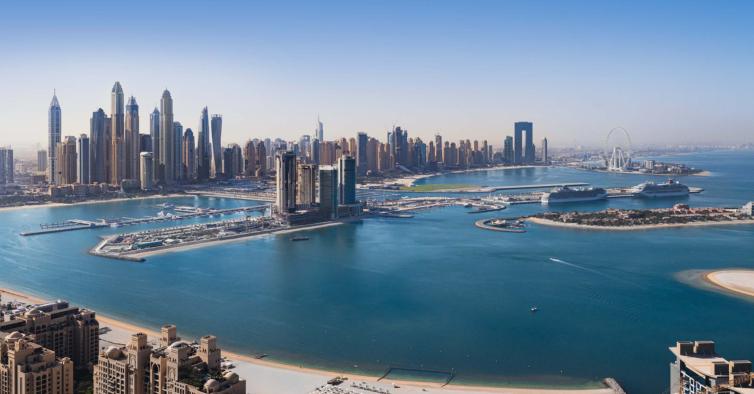 A piscina infinita mais alta do mundo vai nascer no Dubai — e tem esta vista incrível