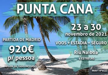 Imperdível: 7 noites em Punta Cana por 920€ por pessoa num hotel tudo incluído