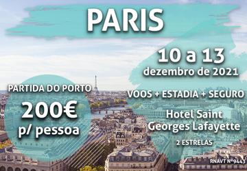 Última chamada: uma escapadinha em Paris por 200€ num hotel no centro da cidade