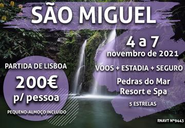 Última chamada: Lisboa-Açores por apenas 200€ num resort de 5 estrelas