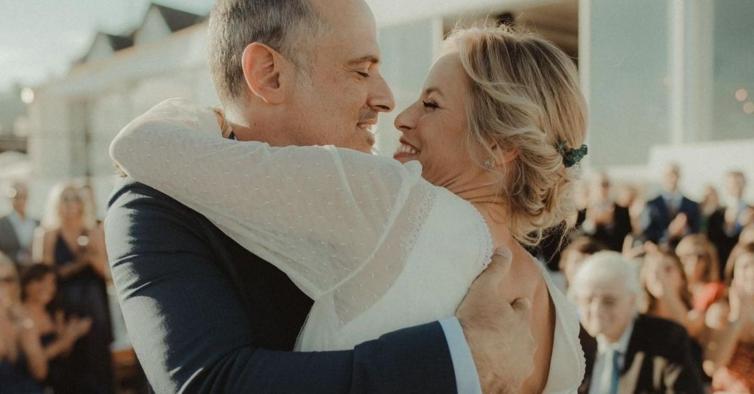 O vestido de noiva de Bárbara Elias foi feito para ser usado toda a vida