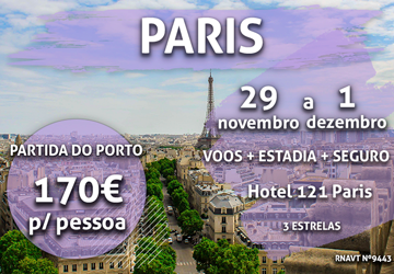 Esta escapadinha de 3 dias para Paris só custa 170€ (com voo e hotel)