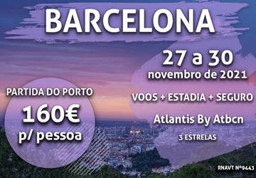 Temos mais um pacote incrível para Barcelona por apenas 160€