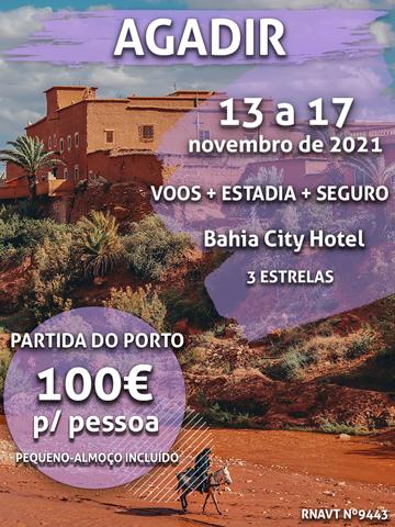Inacreditável: 4 noites em Marrocos por apenas 100€ (com voo e hotel)