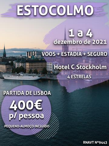 Escapadinha flash: 3 noites em Estocolmo por 400€ num hotel no centro da cidade