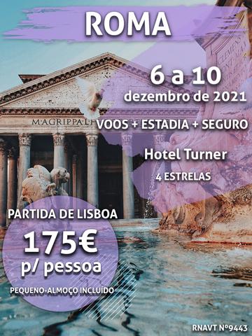 Esta maravilhosa escapadinha de 4 noites em Roma custa apenas 175€ (com voo e hotel)