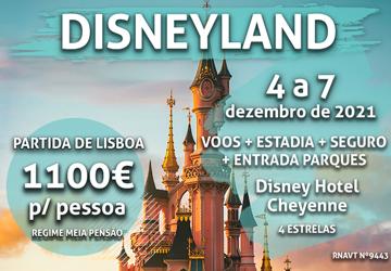 Pára tudo: temos um pacote exclusivo para a Disneyland Paris por 1100€